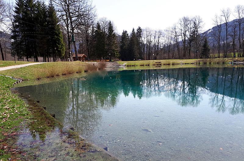 Le lac à Morillon